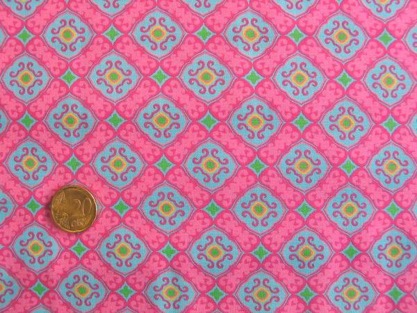 Hilco - Hilde Baumwolldruck, pink