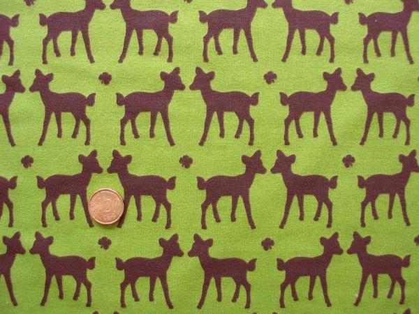 Hilco - Stretch-Sweaty Petit Faon, grün