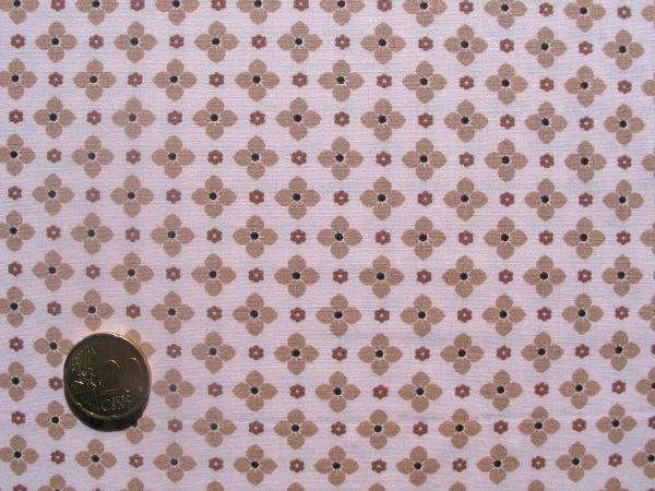 Hilco - Hilde Karoblümchen, rosa-cremebraun