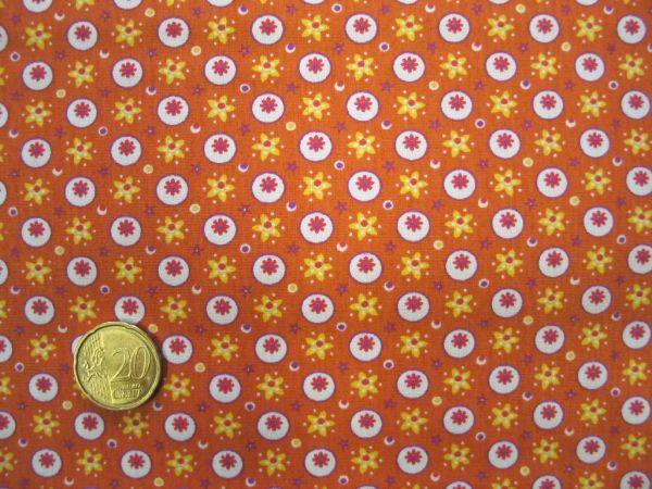Hilco - Hilde Baumwolldruck, orange
