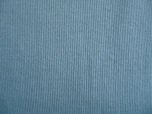 Hilco - Bündchenstrick, blaugrau