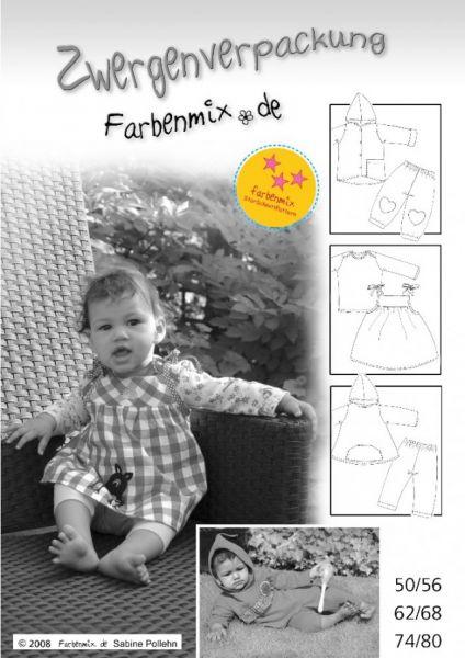 Farbenmix - Zwergenverpackung, StarSchnittPattern
