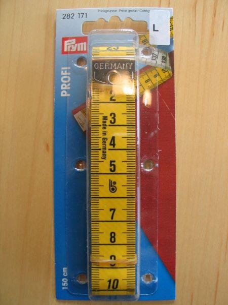 Prym - Maßband Profi mit cm Skala 150cm