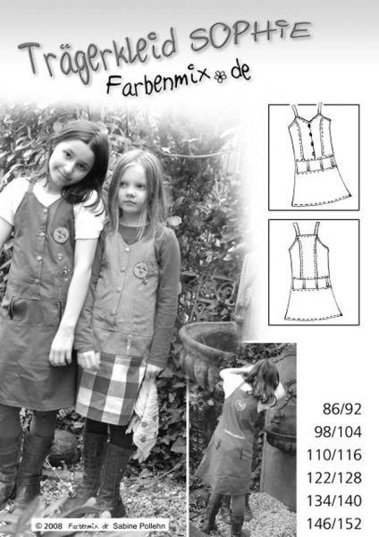 Farbenmix - Trägerkleid Sophie, Schnittmuster