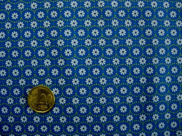 Hilco - Hilde Blumendruck, blau