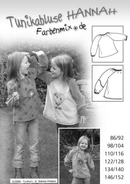 Farbenmix - Tunikabluse Hannah, Schnittmuster