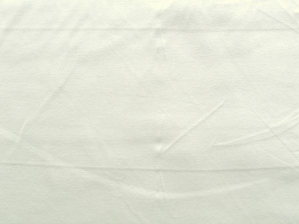 Hilco - Baumwollpopeline uni Pop, weiß