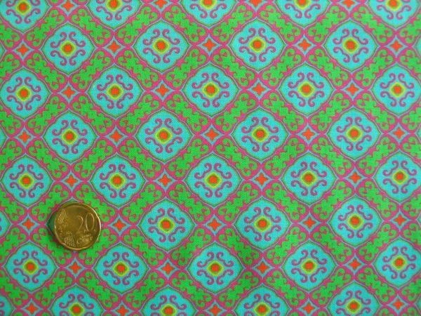 Hilco - Hilde Baumwolldruck, grün