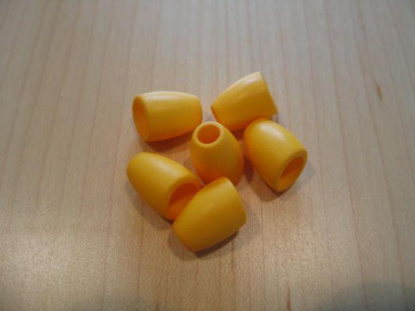 Union Knopf, Kordelstopper 16mm gelb