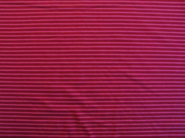 Hilco - Streifenjersey Campan, rot-pink