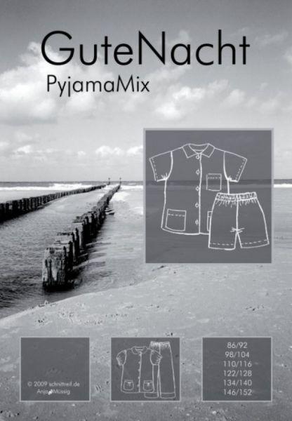 Farbenmix - GuteNacht Pyjama Mix, Schnittmuster