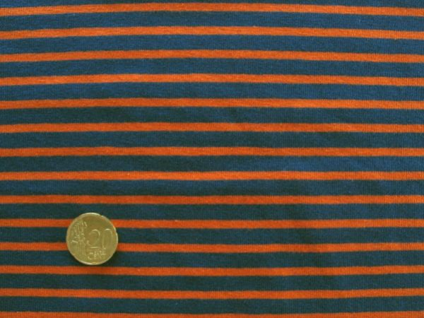 Hilco - Streifenjersey Campan, blau-orange