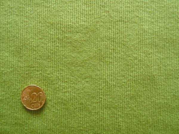 Hilco - Bündchenstrick, grasgrün