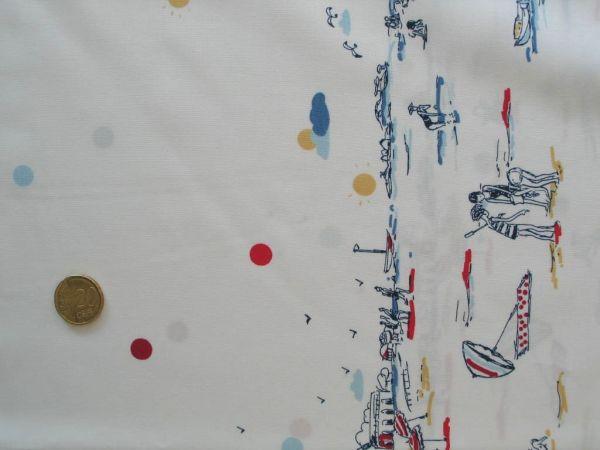 Hilco - Baumwollpopeline Usedom, weiß