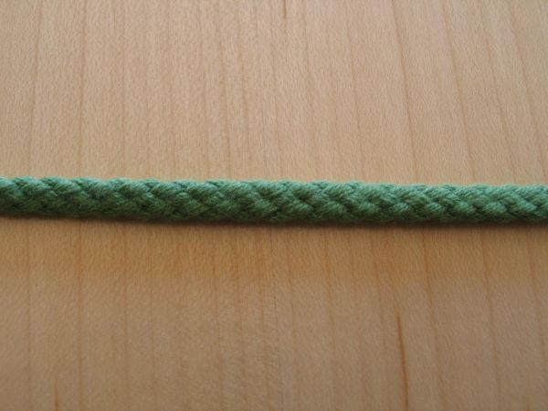 Baumwollkordel grün 5mm