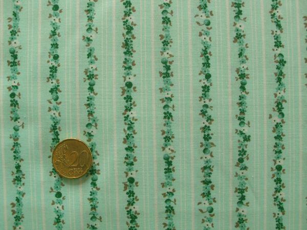 Hilco - Florencia Streifen, türkis-grün