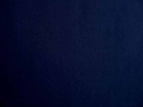 Hilco - Baumwollpopeline uni Pop, dunkelblau