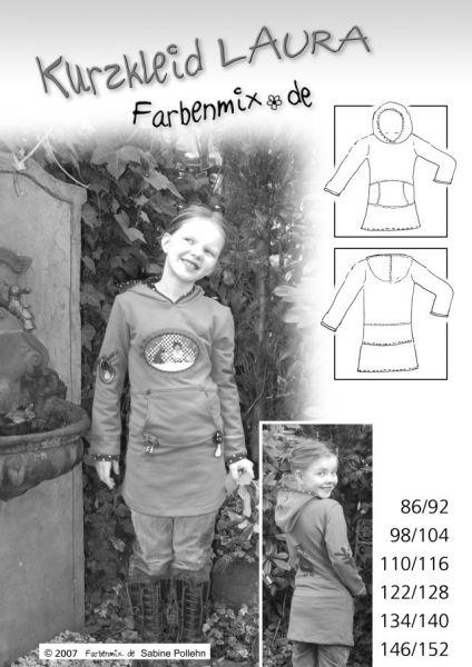Farbenmix - Kurzkleid Laura, Schnittmuster