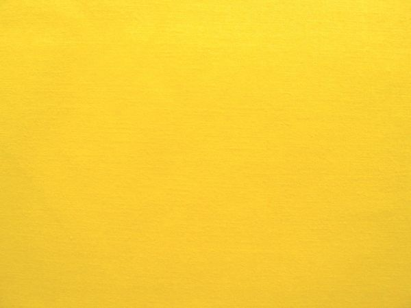 Hilco - Baumwollpopeline uni Pop, gelb