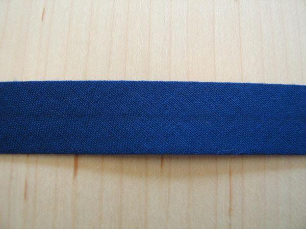 Baumwoll Schrägband 40/20mm blau