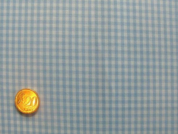 Hilco - Hilde Vichy-Karo, hellblau-weiß