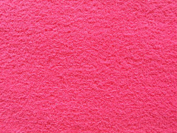 Hilco - Winterfrottee Uni, pink