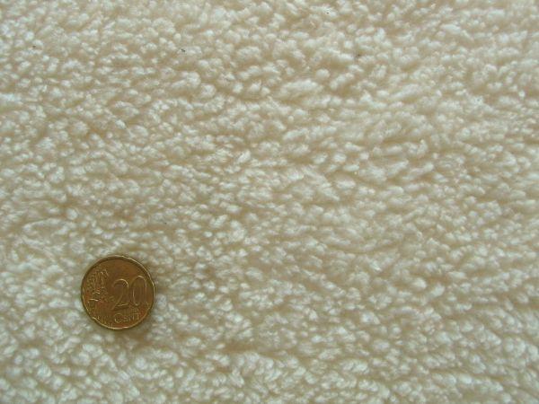 Öko-Baumwoll-Teddy, natur, kuschelig weich