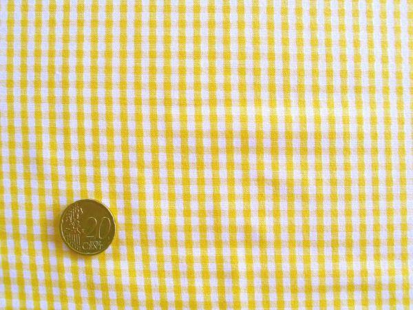 Hilco - Vichy-Karo, gelb-weiß