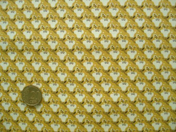 Hilco - Baumwollpopeline Eliaza, gelb