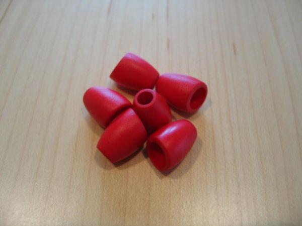 Kordelstopper 16mm rot