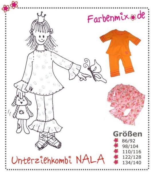 Farbenmix - Unterziehkombi Nala , Schnittmuster