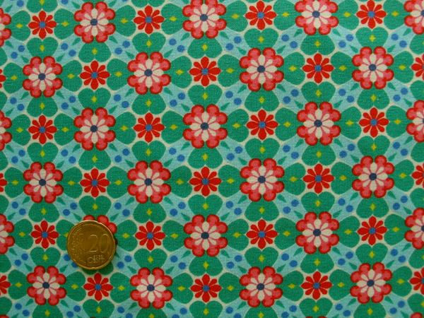 Hilco - Stretch-Jersey Dariah, grün, Reststück 81cm