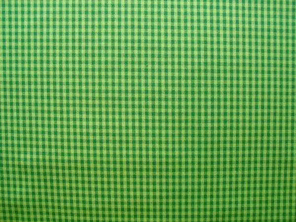 Hilco - Hilde Vichy-Karo, dunkelgrün-hellgrün, Reststück 84cm