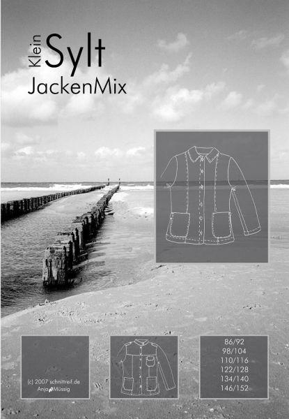 Farbenmix - Jacken Mix kleinSYLT, Schnittmuster