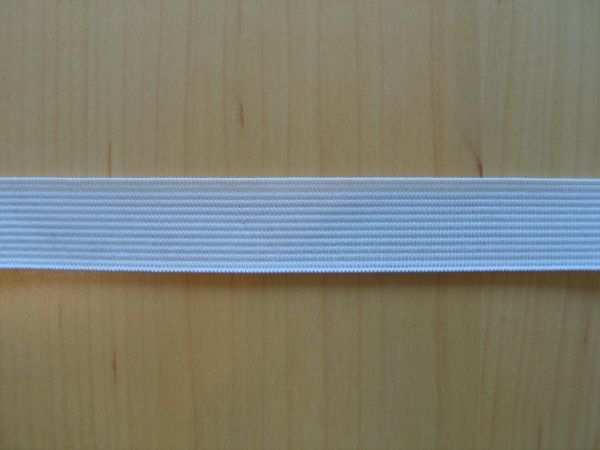 Prym - Elastic-Band weich, Gummiband 20mm weiß
