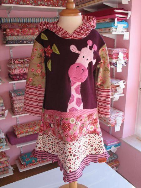 Kleid Giraffe, Gr. 104-110
