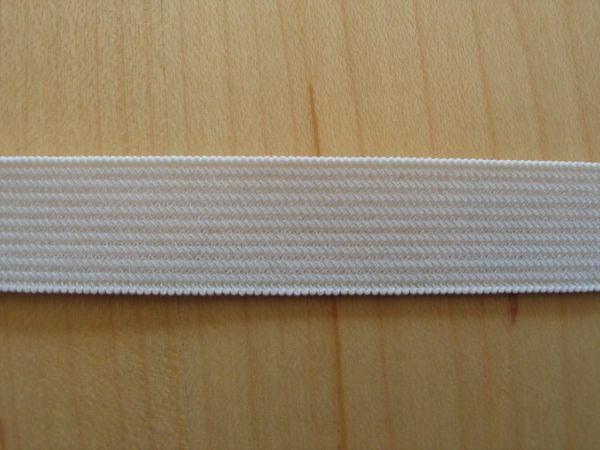 Prym - Elastic-Band weich, Gummiband 15mm weiß