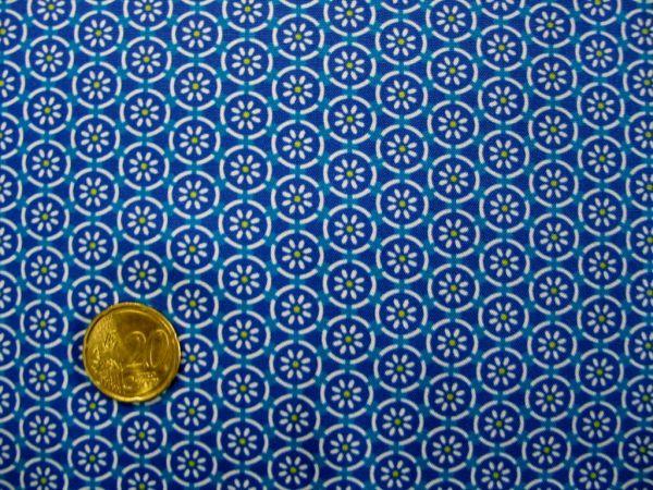Hilco - Hilde Baumwollpopeline, blau