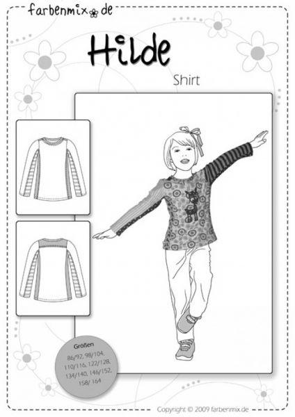 Farbenmix - Shirt HILDE, Schnittmuster