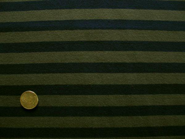 Hilco - Campante, dunkelblau-natogrün, Reststück 33cm