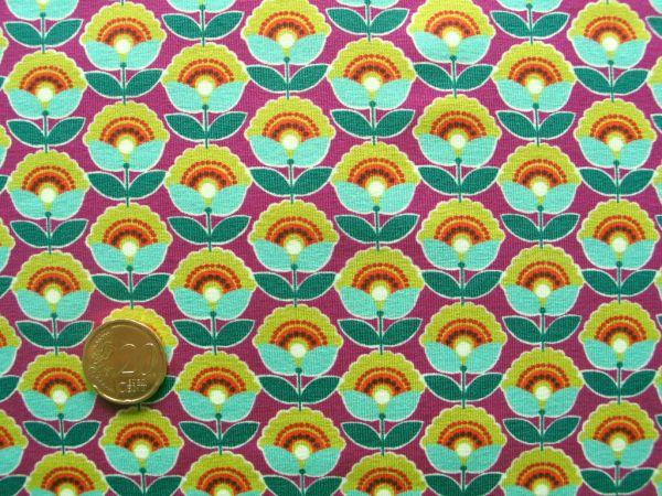 Hilco - Stretch-Jersey Disco, lila