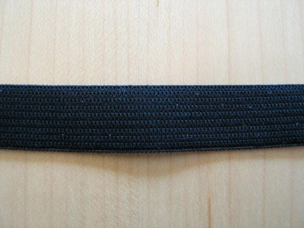 Gold Zack - Gummiband 15mm schwarz