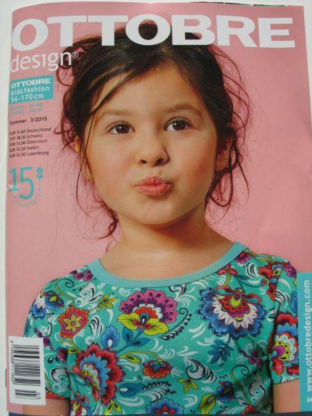Ottobre Design Sommer 3/2015, Kids Fashion, Gr. 56-170cm