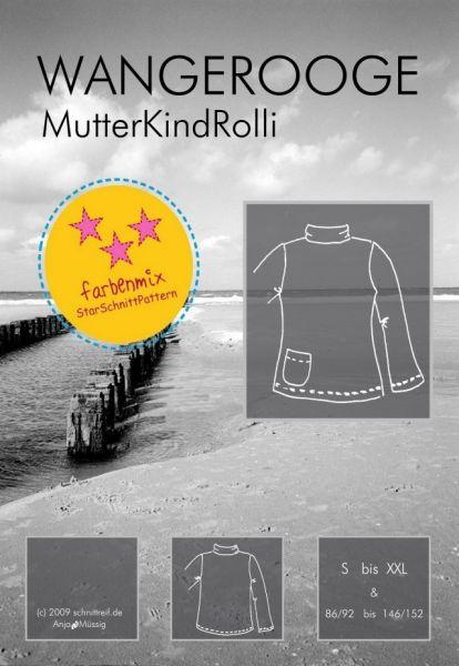 Farbenmix - WANGEROOGE Mutter-Kind-Rolli, Schnittmuster