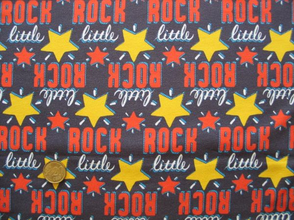 Hilco - Stretch-Sweat Rock-Star, orange-gelb