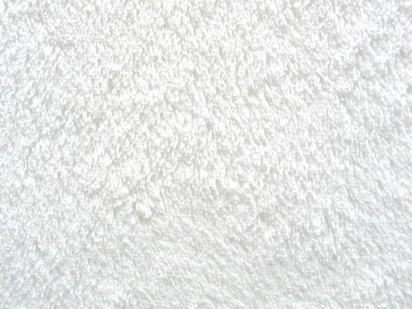 Hilco - Microfaser-Plüsch Super Souple, weiß