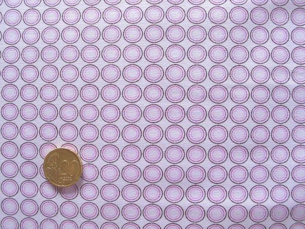 Hilco - Hilde Retro-Kreise, rosa