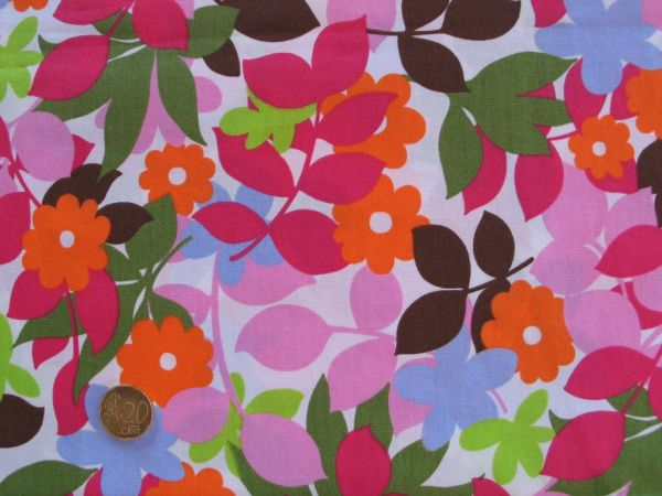 Hilco - Baumwollpopeline Playa Hawaii, rosa-pink