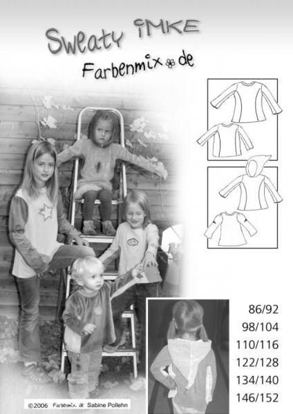 Farbenmix - Sweaty Imke, Schnittmuster