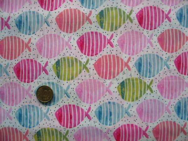 Hilco - Baumwollpopeline Paikea, rosa, Reststück 48cm